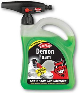 Shampoo demon foam