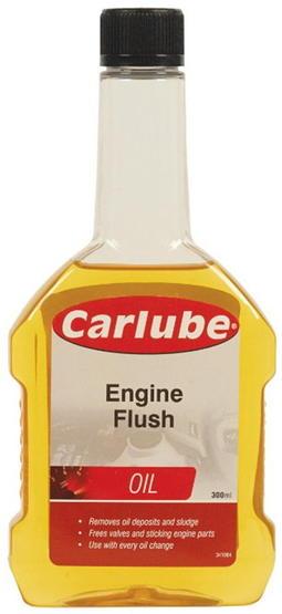engine flush flaske