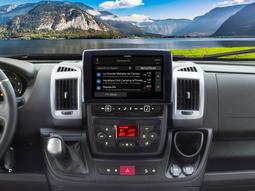 Alpine DAB bilradio med bluetooth