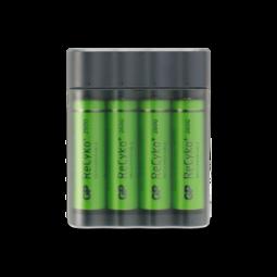 Batterier i lader