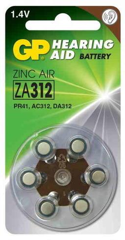 Batterier til høreapparat