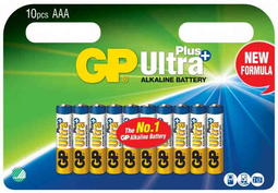 10 AAA-batterier