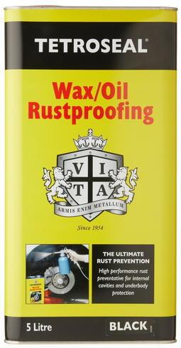 Tetroseal Wax/Oil Rustproofing, 5 liter