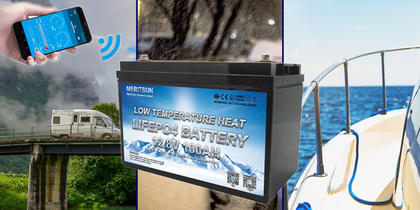 Meritsun Lithium-batteri
