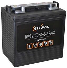 Yuasa 8V DCB875-8, traksjonsbatteri