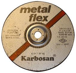 Slipeskive metall, 230mm