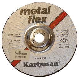 Slipeskive metall, 180mm
