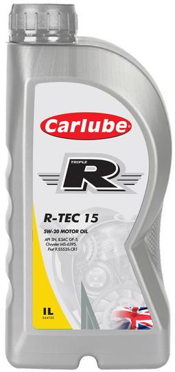 Carlube 5w20, R-TEC15, 1L