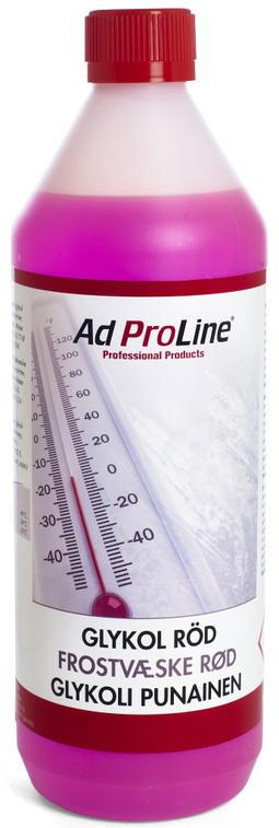 AdProLine frostvæske, rød, G12+ / G30, 1L