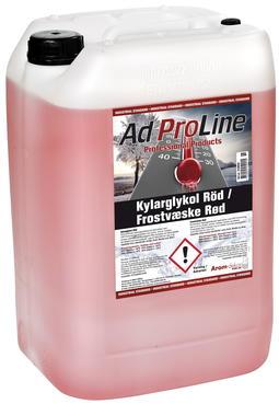 AdProLine frostvæske, rød, G12+ / G30, 25L
